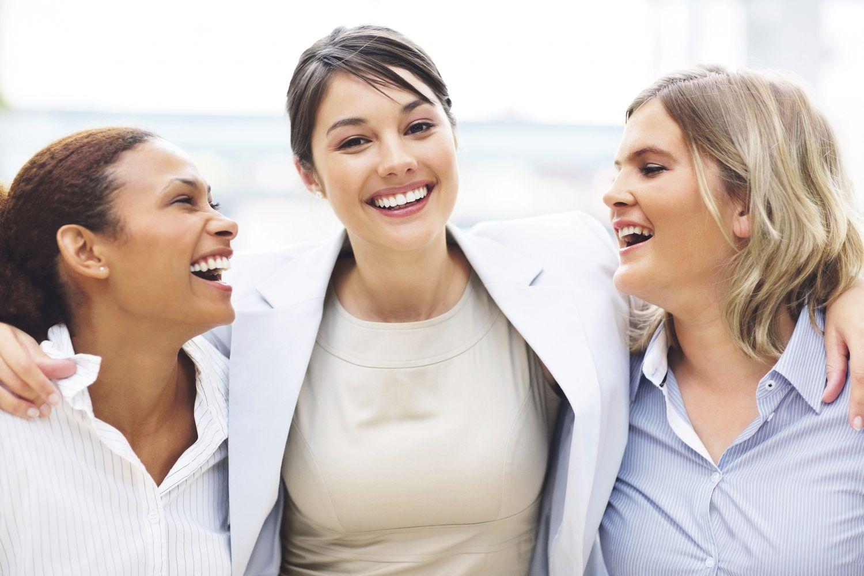 Drei Frauen. Thema: Gender Diversity