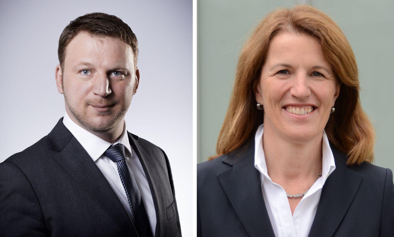 Porträt Monika Ullmer und Thomas Höpfner. Thema: Familie und Beruf bei der KKH